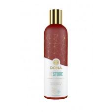 «Dona» массажное масло с ароматом перечной мяты и эвкалипта, 120 мл