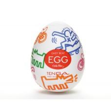 "TENGA&Keith Haring Egg Мастурбатор яйцо ""Street"""