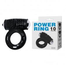 "Кольцо эрекционное ""POWER RING"" 10 режимов вибрации"